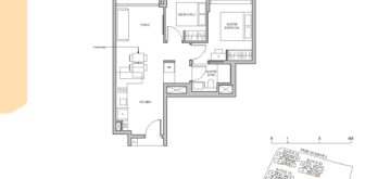 Pasir-Ris-8-Floor-plan-2-bedroom-B1-singapore