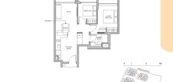 Pasir-Ris-8-Floor-plan-2-bedroom-B2-singapore