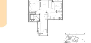 Pasir-Ris-8-Floor-plan-2-bedroom-B3-singapore