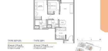 Pasir-Ris-8-Floor-plan-2-bedroom-premium-BP1-singapore