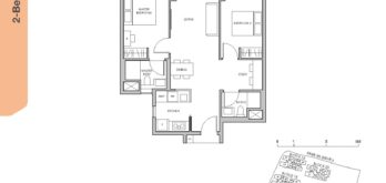 Pasir-Ris-8-Floor-plan-2-bedroom-premium-study-BPS1-singapore