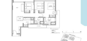 Pasir-Ris-8-Floor-plan-3-bedroom-C1-singapore